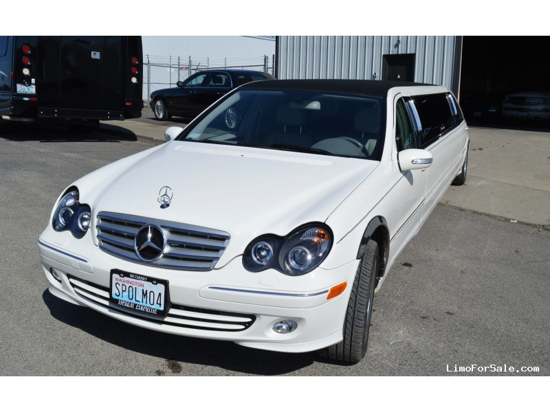 Used 2006 Mercedes-Benz C class Sedan Stretch Limo Empire Coach - spokane - $22,500
