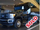 2012, Ford F-550, Mini Bus Limo, Executive Coach Builders