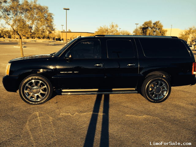 used 2005 cadillac escalade esv suv limo henderson nevada 23 900 limo for sale. Black Bedroom Furniture Sets. Home Design Ideas