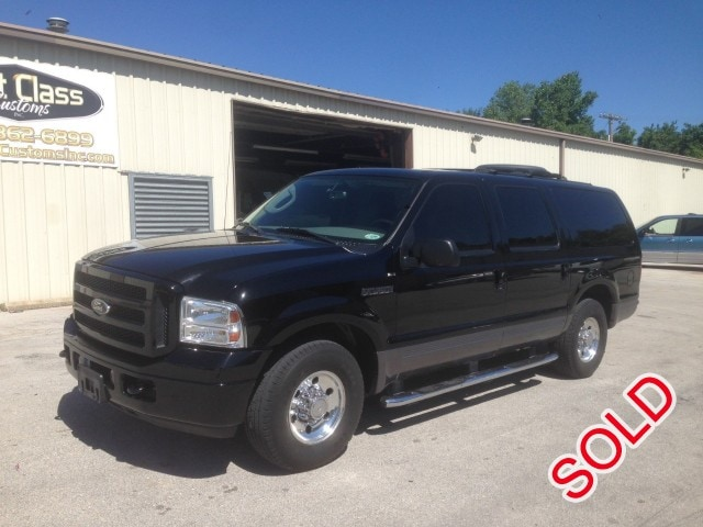 Used 2005 Ford Excursion Xlt Suv Limo Executive Coach Builders Springfield Missouri 18 900