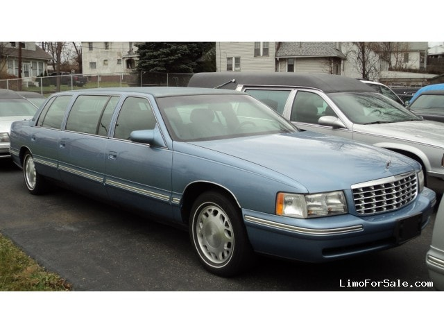 Used 1999 Cadillac XTS Limousine Funeral Limo S&S Coach ...