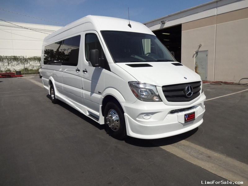 New 2015 mercedes benz sprinter mini bus limo specialty for Mercedes benz limo for sale