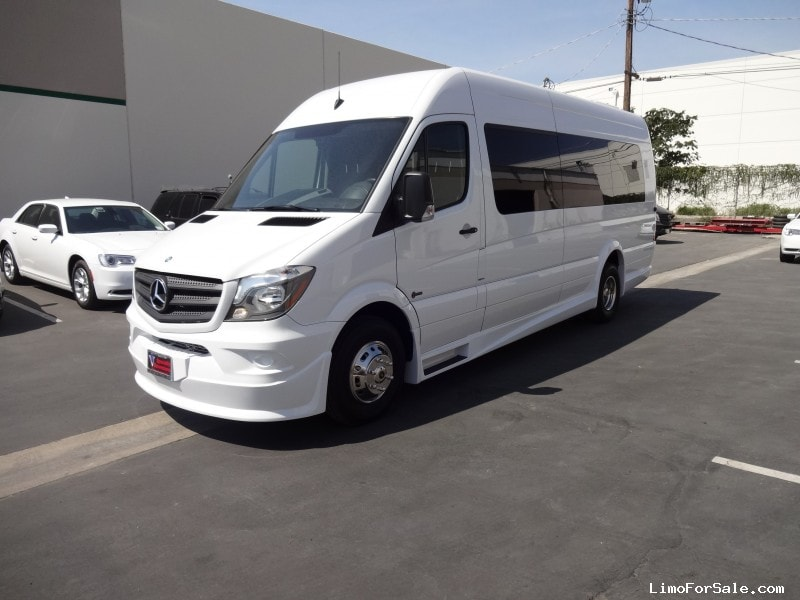 New 2015 mercedes benz sprinter mini bus limo specialty for Mercedes benz sprinter conversion