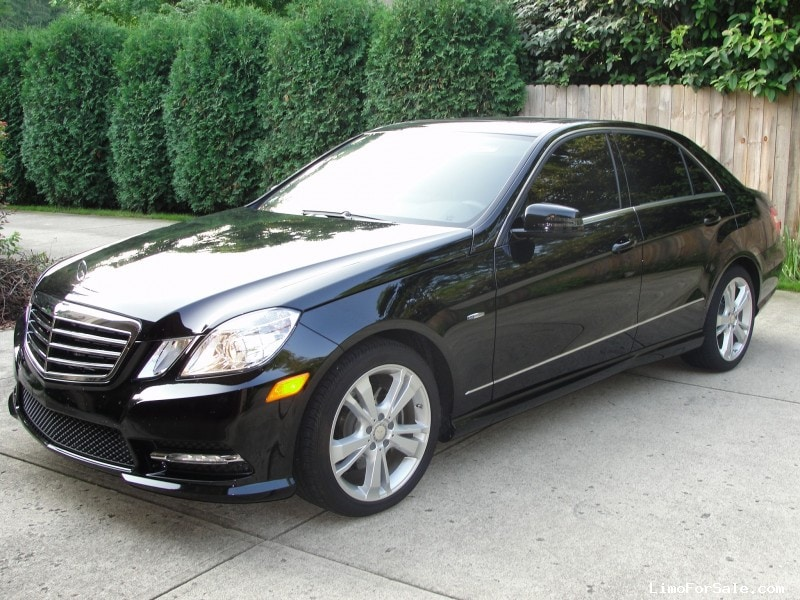 used 2012 mercedes benz e class sedan limo dayton ohio 32 500 limo for sale. Black Bedroom Furniture Sets. Home Design Ideas