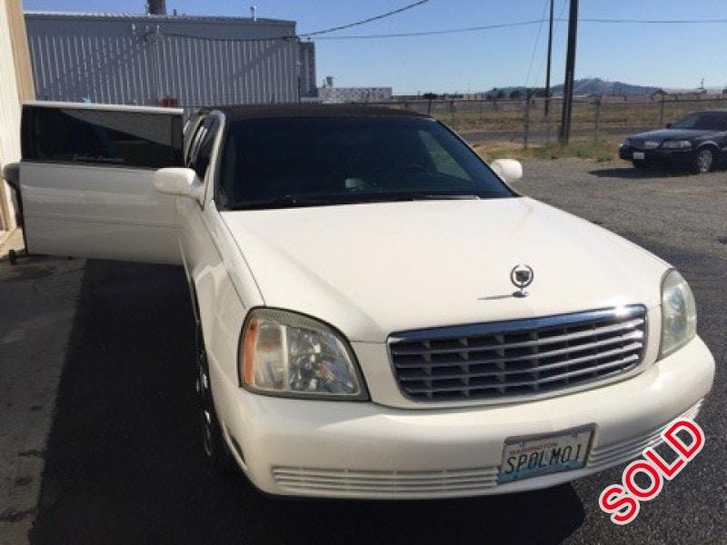 New 2003 Cadillac De Ville Sedan Stretch Limo DaBryan - spokane - $12,750