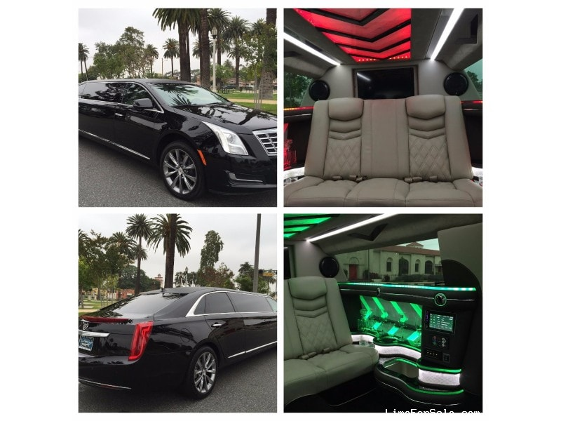 Used 2014 Cadillac XTS Sedan Stretch Limo American Limousine Sales - Los angeles, California - $62,995