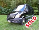 2015, Mercedes-Benz Sprinter, Van Limo, Executive Coach Builders