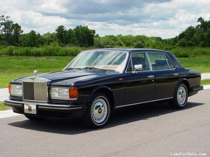 2016 Lincoln Town Car Price >> Used 1987 Rolls-Royce Silver Spur Antique Classic Limo OEM - Cincinnati, Ohio - $11,500 - Limo ...
