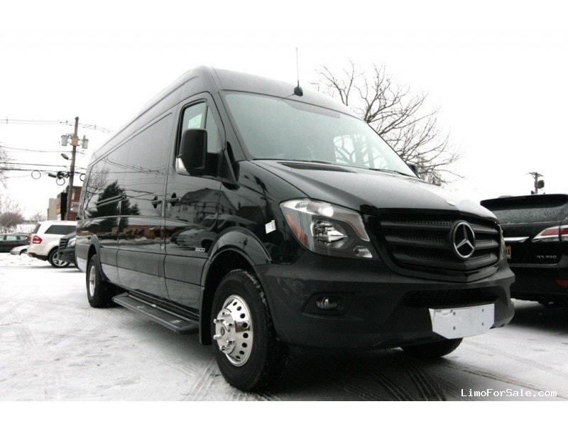New 2015 Mercedes Benz Sprinter Van Shuttle Tour Hq