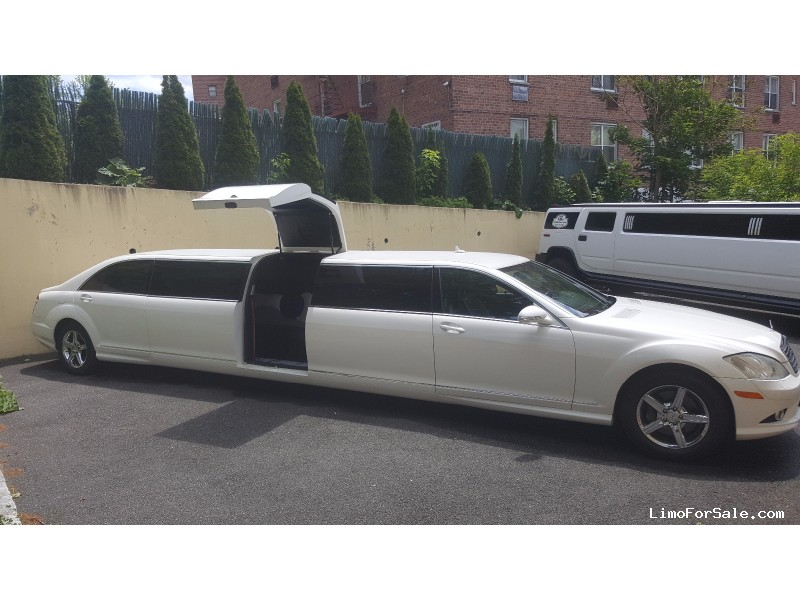 Used 2008 mercedes benz s550 sedan stretch limo for Mercedes benz 2008 s550 for sale