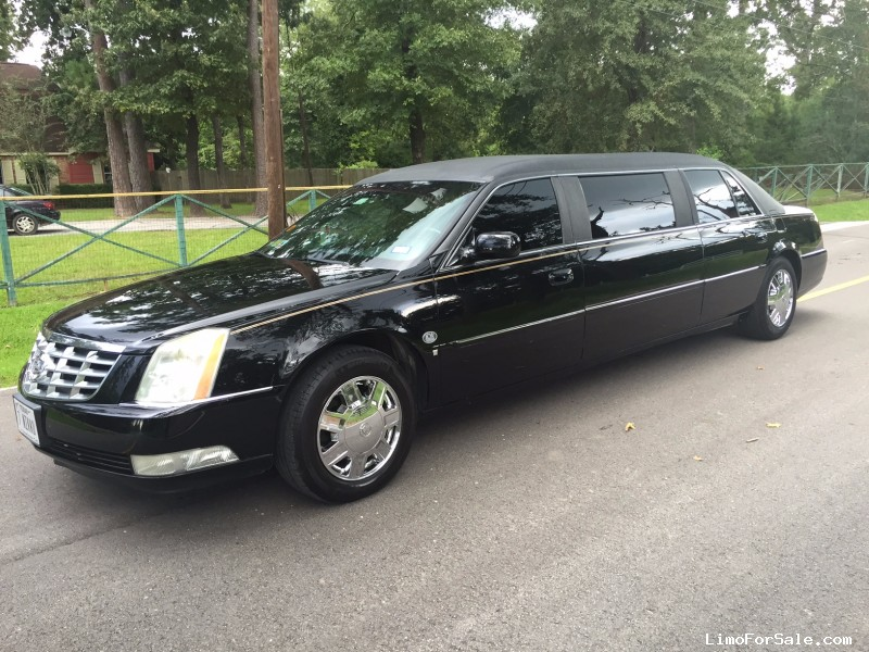 Used 2007 Cadillac DTS Sedan Stretch Limo LCW - Houston, Texas - $12,000