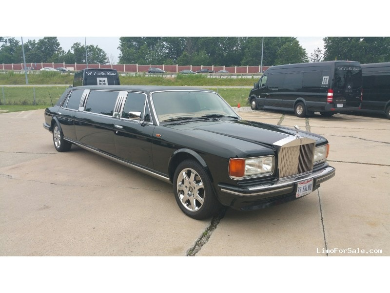 used 1995 rolls-royce silver dawn sedan stretch limo dabryan