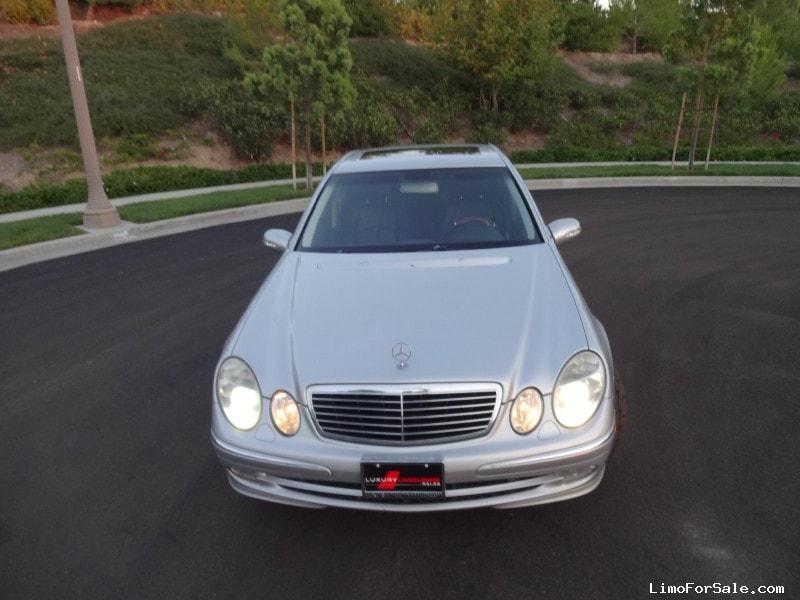Used 2003 mercedes benz e class sedan limo irvine for Mercedes benz irvine ca