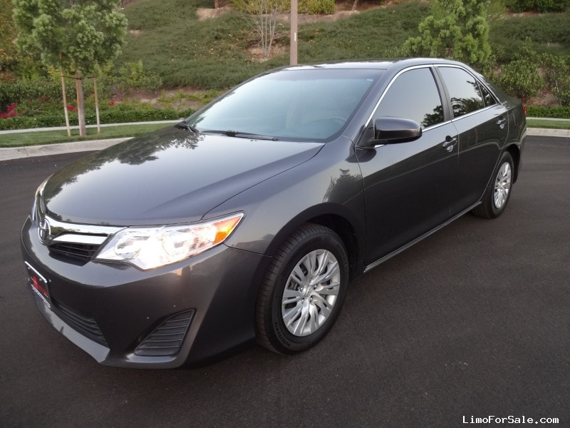 used 2013 toyota camry sedan limo irvine california 14 000 limo for sale. Black Bedroom Furniture Sets. Home Design Ideas
