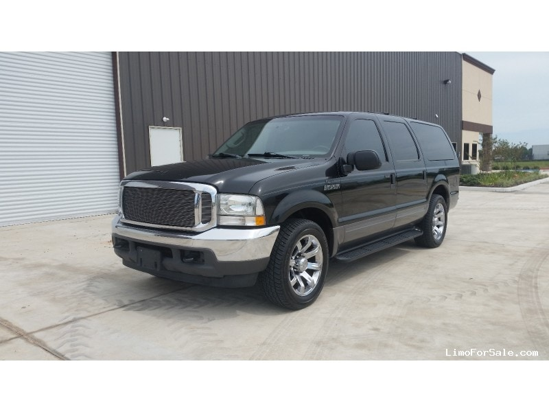 used 2003 ford excursion xlt suv limo california coach cypress texas 14 000 limo for sale. Black Bedroom Furniture Sets. Home Design Ideas