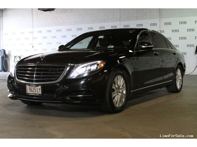 Used 2015 Mercedes-Benz S550 Sedan Limo  - Des Plaines, Illinois - $32,900