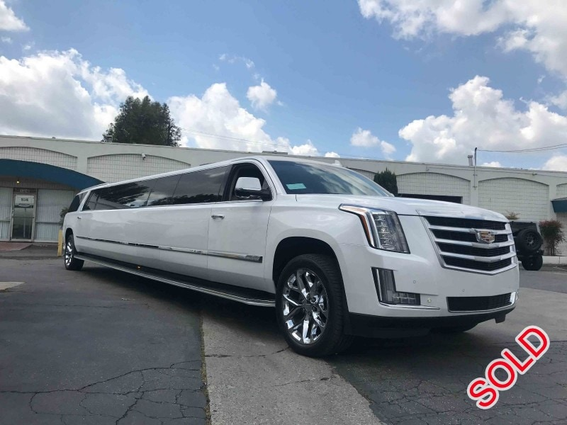Used 2016 Cadillac Escalade SUV Stretch Limo Pinnacle Limousine Manufacturing - long island city, New York    - $107,000