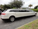Used 2014 Lincoln MKT Sedan Stretch Limo Executive Coach Builders - Delray Beach, Florida - $46,900