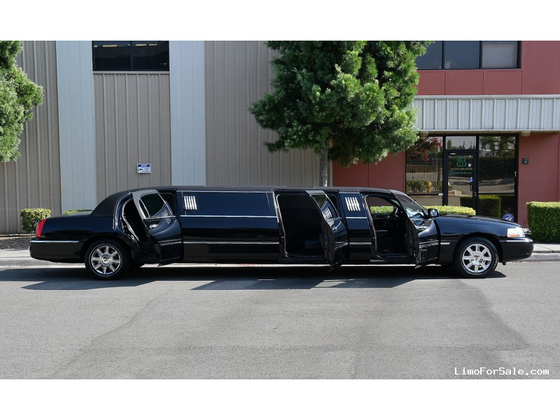 Used 2008 Lincoln Town Car Sedan Stretch Limo Krystal - Fontana, California - $24,995