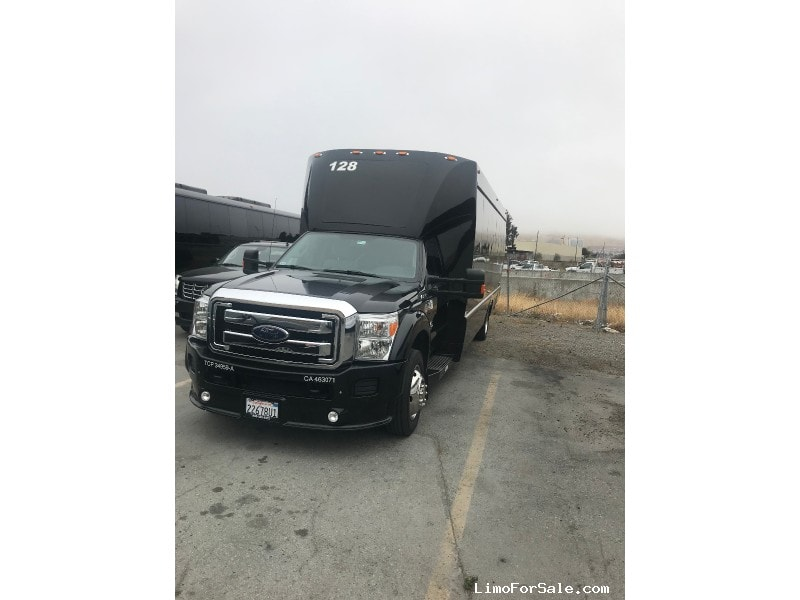 Used 2015 Ford F-550 Mini Bus Shuttle / Tour Tiffany Coachworks - South San Francisco, California - $79,999