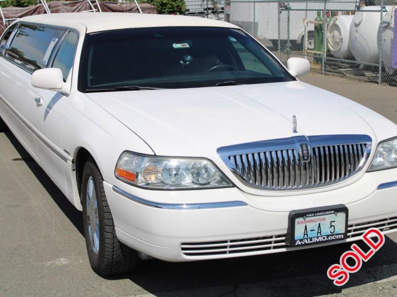 Used 2008 Lincoln Sedan Stretch Limo Krystal - Seattle, Washington - $15,900