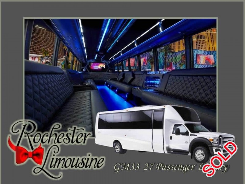 Used 2015 Ford F-550 Motorcoach Limo Grech Motors - pontiac, Michigan - $83,000