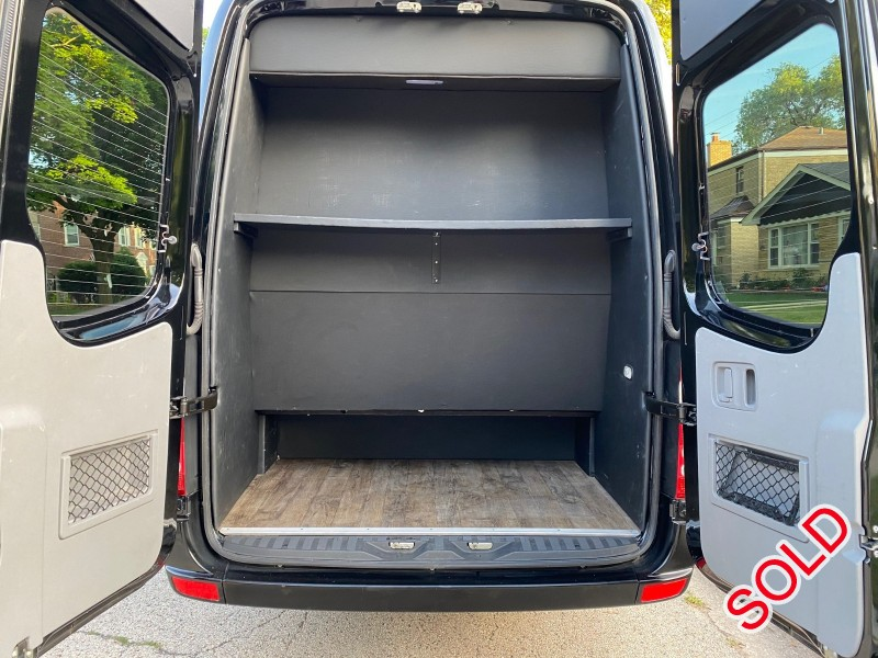 Used 2016 Mercedes-Benz Sprinter Van Shuttle / Tour Elkhart Coach - chicago, Illinois - $45,900