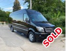 2016, Mercedes-Benz Sprinter, Van Shuttle / Tour, Elkhart Coach