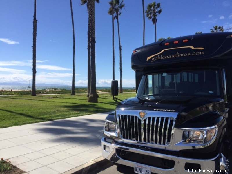 Used 2013 IC Bus AC Series Mini Bus Shuttle / Tour Starcraft Bus - Santa Maria, California - $15,000