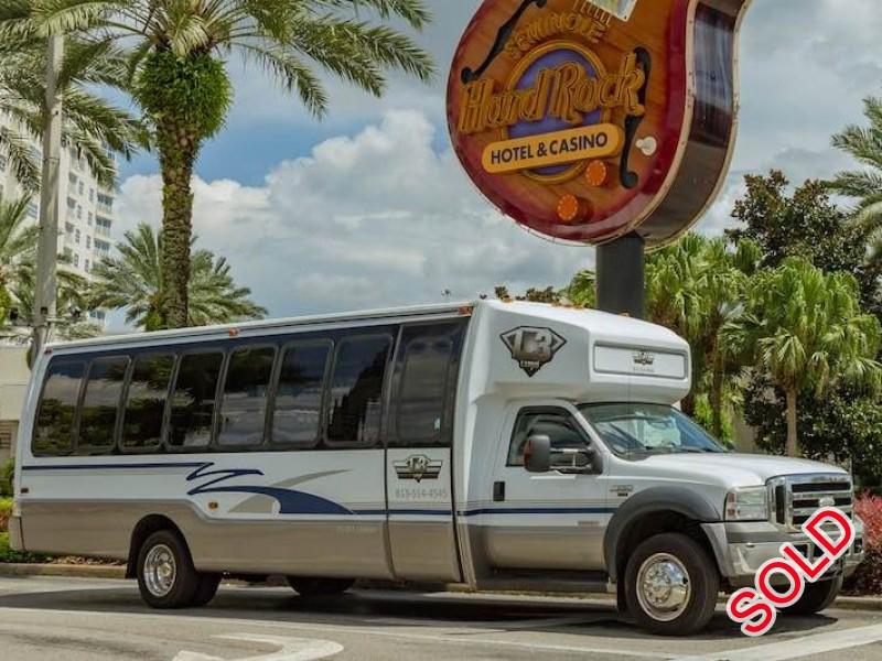 Used 2006 Ford F-550 Mini Bus Limo  - Tampa, Florida - $29,500