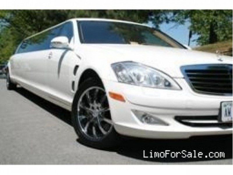 Used 2007 mercedes benz s class sedan stretch limo for 2007 mercedes benz s class for sale
