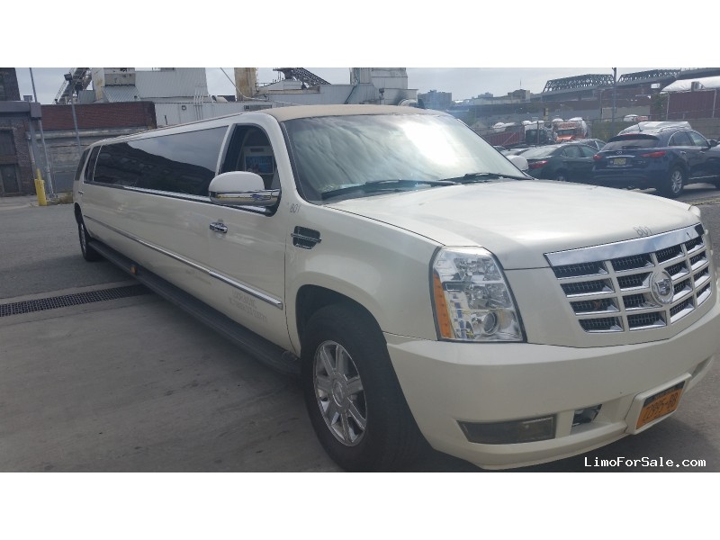 used 2007 cadillac escalade suv stretch limo brooklyn new york 39 000 limo for sale. Black Bedroom Furniture Sets. Home Design Ideas