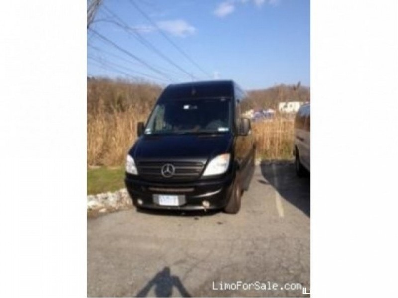 Used 2008 mercedes benz sprinter van limo poughkeepsie for Mercedes benz poughkeepsie ny