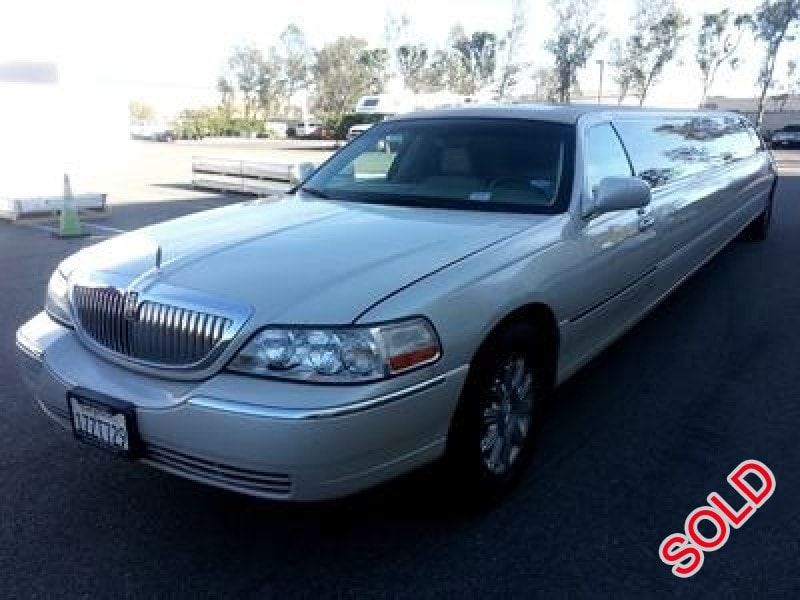 Used 2006 Lincoln Town Car Sedan Stretch Limo Mission Viejo