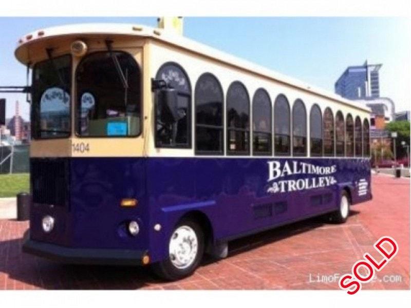 Used 2004 Freightliner XC Trolley Car Limo  - Glen Burnie, Maryland - $59,500