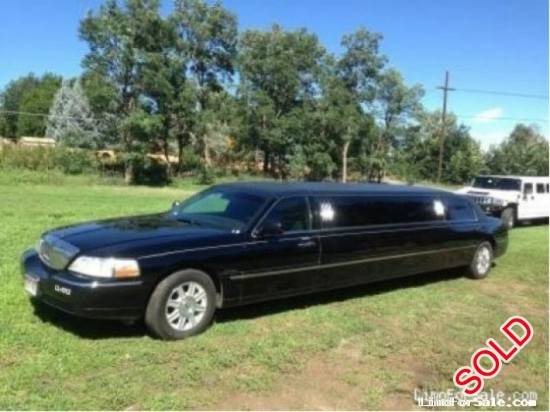 Used 2007 Lincoln Town Car Sedan Stretch Limo Golden Colorado
