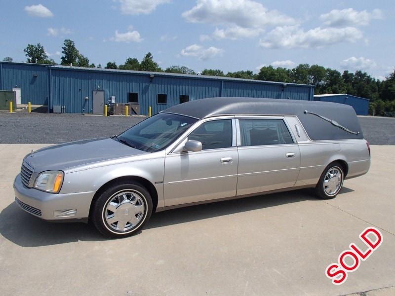 Used 2004 Cadillac De Ville Funeral Hearse Eagle Coach