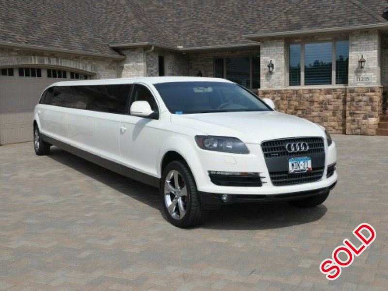 used 2007 audi q7 suv stretch limo ec customs eagan minnesota 59 999 limo for sale. Black Bedroom Furniture Sets. Home Design Ideas