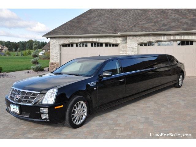 Used 2008 Cadillac Sts Sedan Stretch Limo Ec Customs