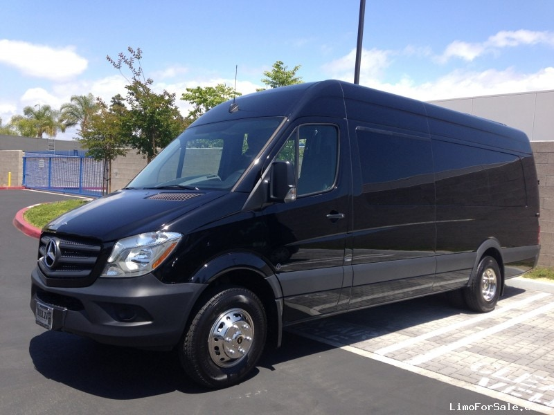 New 2015 mercedes benz sprinter van shuttle tour for Mercedes benz sprinter conversion