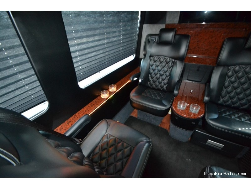 Used 2013 mercedes benz sprinter van shuttle tour first for Used mercedes benz springfield mo