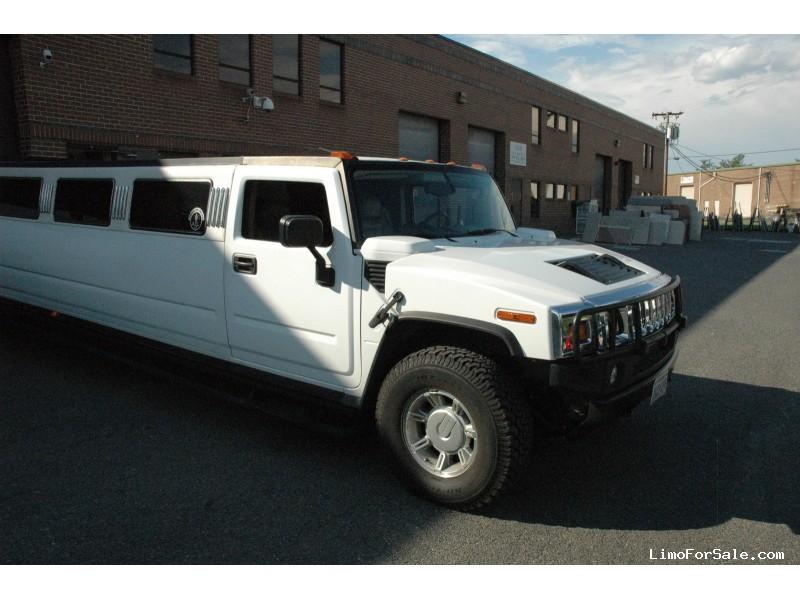 Used 2003 hummer h2 suv stretch limo ultra lorton virginia