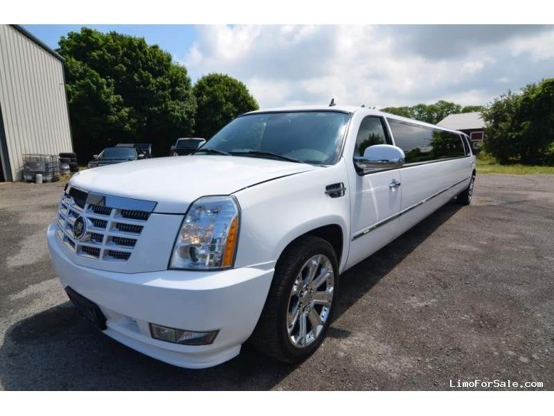 used 2007 cadillac escalade suv stretch limo north east pennsylvania 37 595 limo for sale. Black Bedroom Furniture Sets. Home Design Ideas