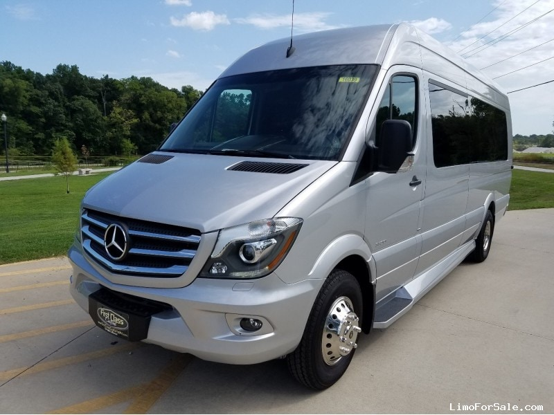 New 2016 mercedes benz sprinter van limo first class for Mercedes benz limo for sale