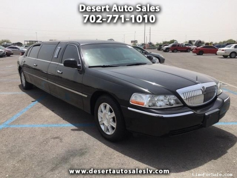 Used 2010 Lincoln Town Car Sedan Stretch Limo Krystal Las Vegas
