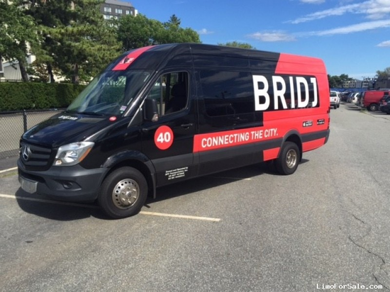Used 2014 Mercedes Benz Sprinter Van Shuttle Tour
