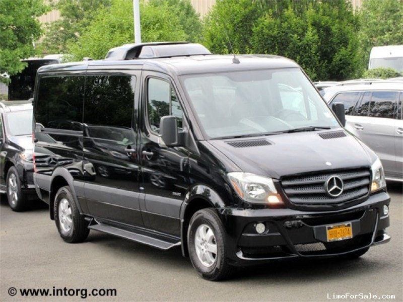 Used 2016 mercedes benz sprinter van limo battisti customs for Used mercedes benz minivan for sale