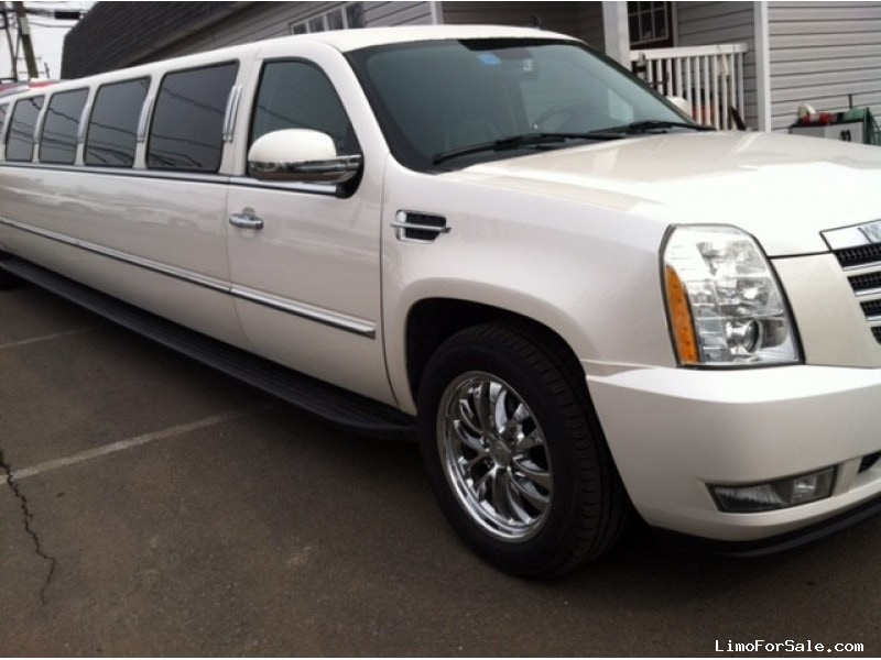used 2007 cadillac escalade suv stretch limo new jersey 27 995 limo for sale. Black Bedroom Furniture Sets. Home Design Ideas