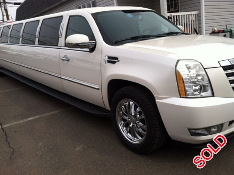 Used 2007 Cadillac Escalade SUV Stretch Limo , New Jersey    - $26,995