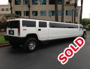 Used 2003 Hummer H2 SUV Stretch Limo Elite Coach - West Covina, California - $38,000